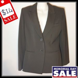 Anne Klein Striped Blazer